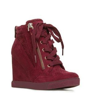 Shoedazzle Giomara Wedge Sneaker